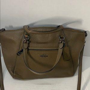 NWOT Beautiful Leather Coach Crossbody Bag